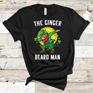 Hot Ginger Beard Man St. Patrick's Irish Dabbing Leprechaun shirt