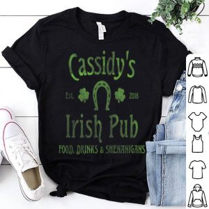 Nice Cassidy's Irish Pub St. Patrick's Day Party shirt