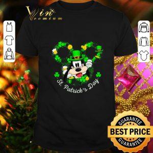 Nice Disney Goofy Happy St. Patrick's Day shirt