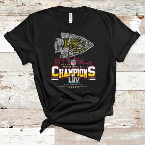 Nice Kansas City Chiefs Nfl Super Bowl Liv Champions shirt
