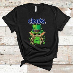Official Baby Yoda Cintas Shamrock St.Patrick's Day shirt
