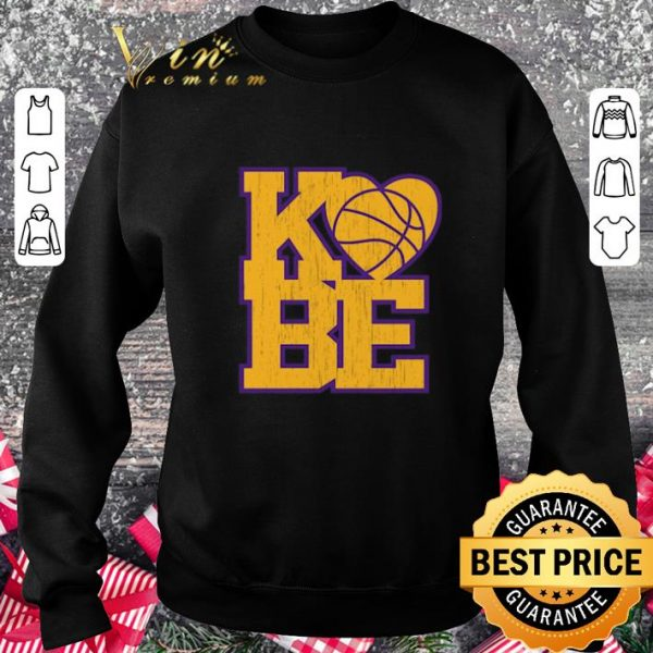 Official Love Kobe Bryant RIP 1978-2020 Rest In Peace shirt