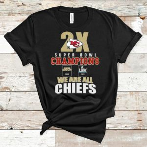 Original Kansas City Chiefs 2x Super Bowl Champions 1969 2019 We Are All Chiefs shirt