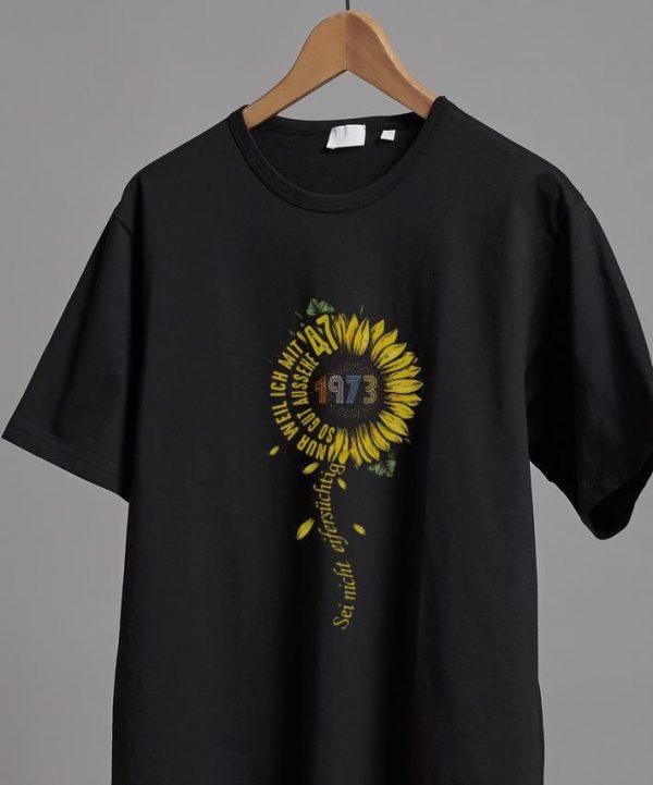 Premium Sei nicht eifersüchtig 1973 Sunflower shirt
