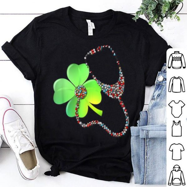 Premium Shamrock - Saint Patricks Day - Registered Nurse Tee shirt