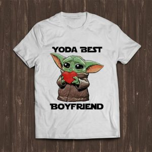 Pretty Baby Yoda Best Boyfriend Valentine's Day shirt
