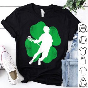 Pretty Lacrosse St Patrick's Day Lacrosse Lover Irish shirt