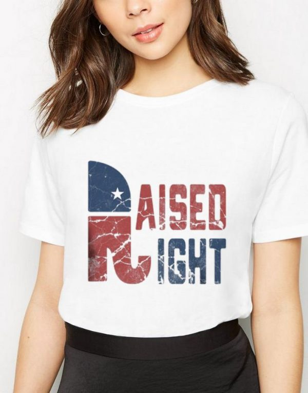 Pretty Republican Party Logo Raised Right shirt