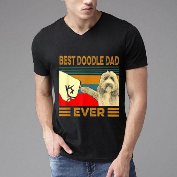 Vintage Best Doodle Dad Ever Dog Lovers shirt
