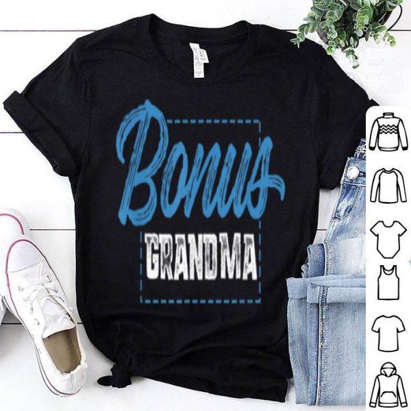 Awesome Bonus Grandma Funny Mother's Day Step Grandma Gift shirt