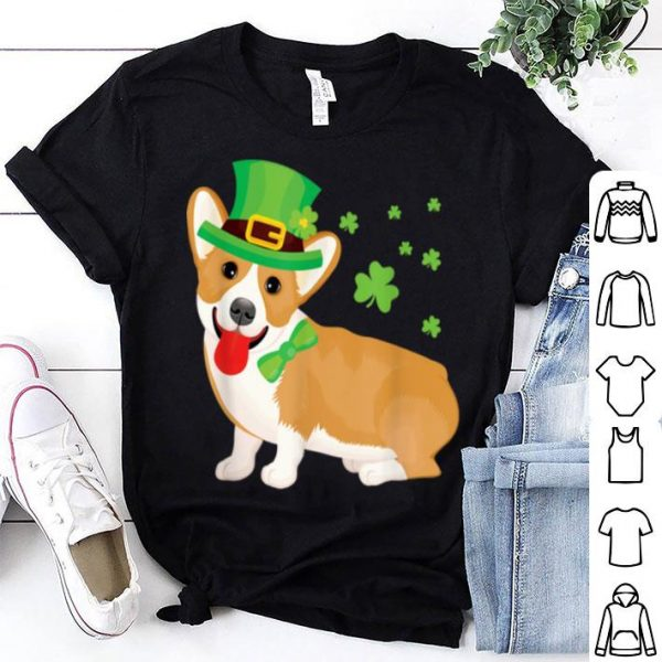 Awesome Corgi St Patrick's Day shirt