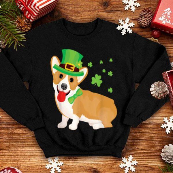 Awesome Corgi St Patrick's Day shirt