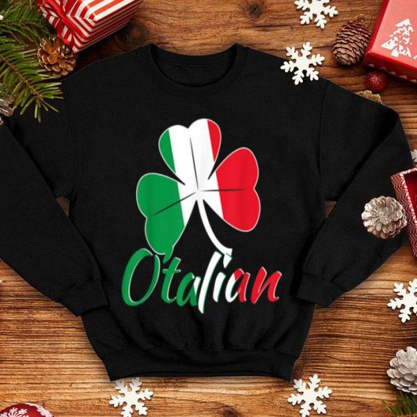 Beautiful Funny Italian St Patricks Day O_talian Irish shirt