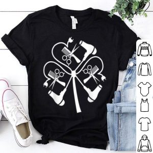 Beautiful Hair Stylist Shamrock St. Patrick's Day Lovers Funny Gift shirt