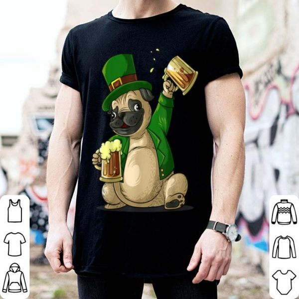 Beautiful Irish Leprechaun St Patricks Day Funny Men Women Gift shirt