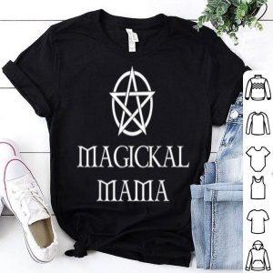 Beautiful Magickal Mama Witch Wiccan Pagan Witchcraft shirt