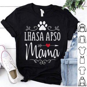 Nice Lhasa Apso Mama - Funny Lhasa Apsos Lover Gift shirt