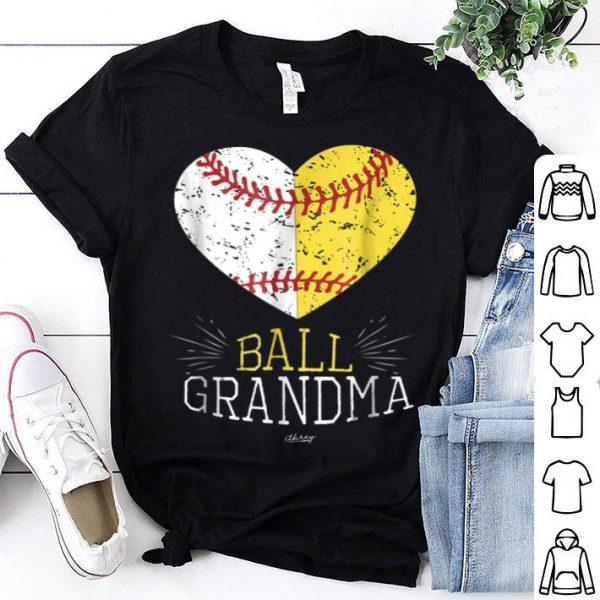 Nice Mom Funny Baseball Ball Funny Grandma Softball Gifts shirt