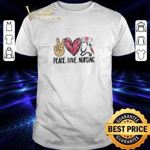 Nice Peace love nursing diamond shirt