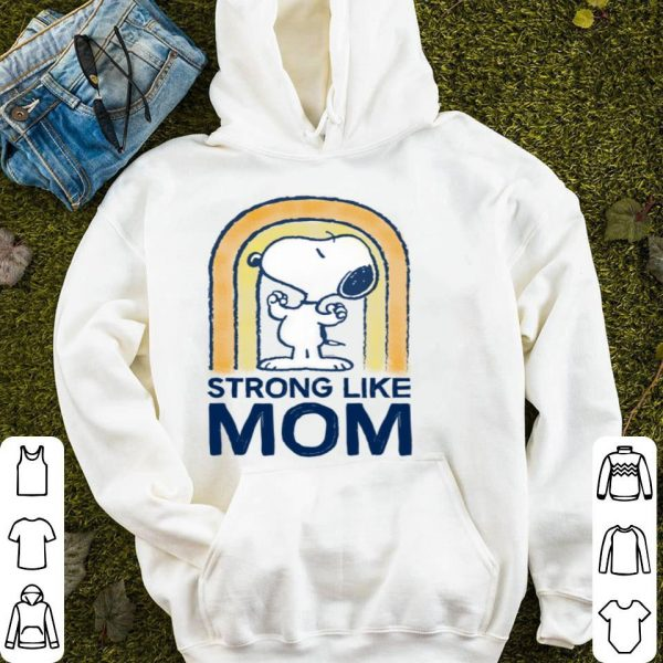 Nice Peanut's Mother's Day Strong Snoopy shirt