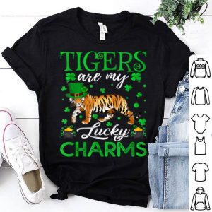 Official Tigers Are My Lucky Charms Tiger St. Patrick's Day shirt