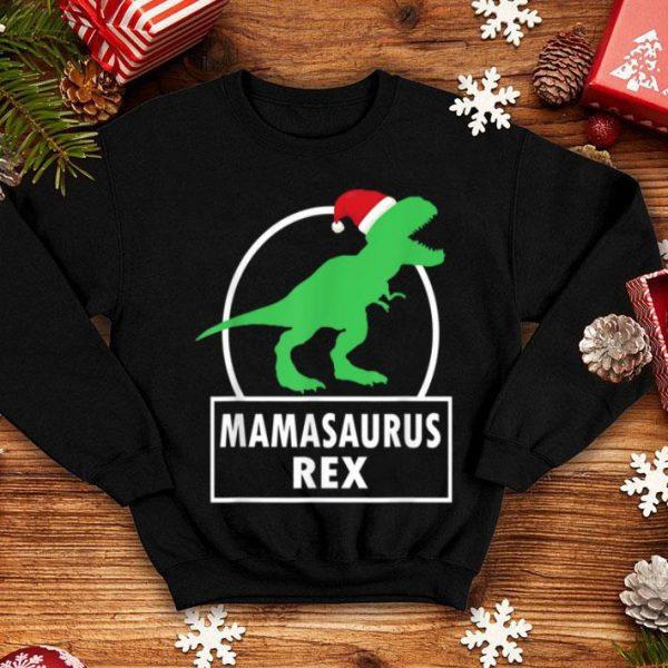 Original Funny Family Matching Mom Gift Mama Christmas Dinosaur shirt