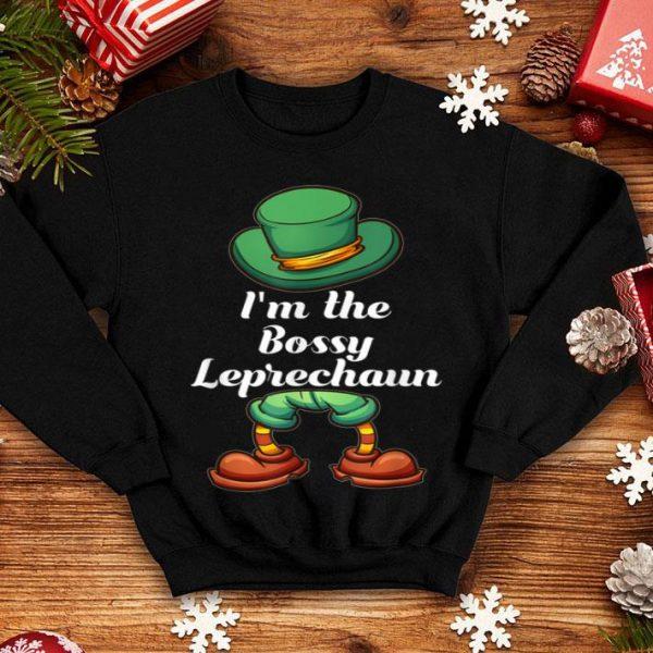Premium I'm The Bossy Leprechaun Group Matching St Patricks Day shirt