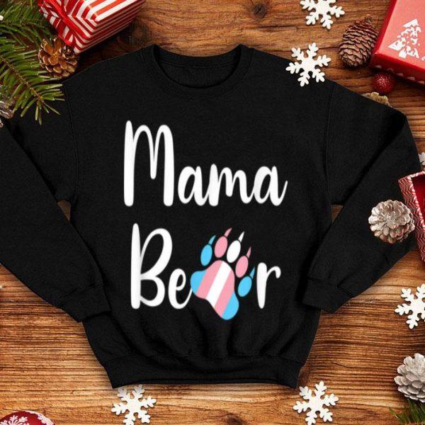 Premium Mama Bear Transgender Mom Trans Pride Gift shirt