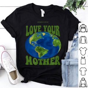 Pretty Awesome Love Your Mother Earth, Planet Earth Day Climate Change Art shirt