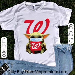 Awesome Star Wars Baby Yoda Mask Hug Walgreens Covid-19 shirt
