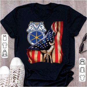 Official International Brotherhood Of Teamsters America Flag shirt
