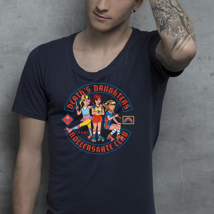 Death s Daughter Roller Skate Club shirt 4 - Death's Daughter Roller Skate Club shirt
