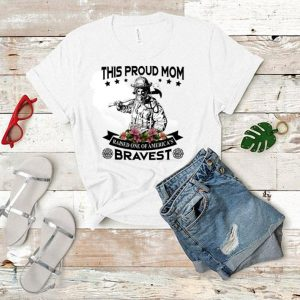 Flower Firefighter This proud mom raised one of America's Bravest shirt