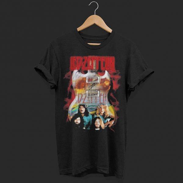 Led Zeppelin guitar shirt
