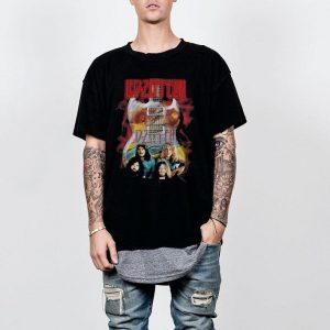 Led Zeppelin guitar shirt 1