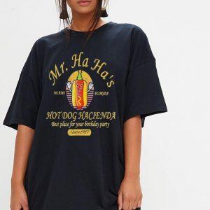 Mr Ha Ha's Miami Florida Hot dog Hacienda best place for you shirt 2