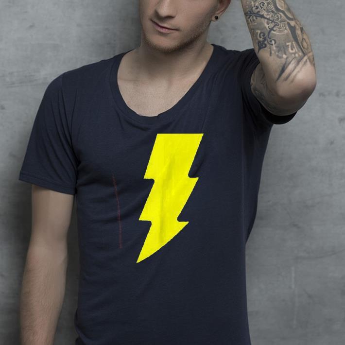Shazam Logo shirt 4 - Shazam! Logo shirt