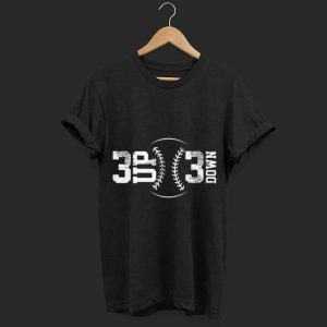 3 UP 3 Down Baseball shirt
