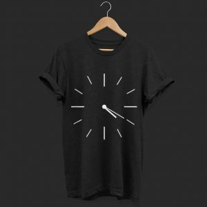 420 Clock novelty shirt