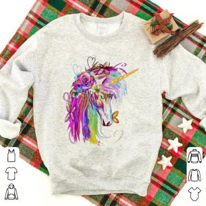 Colorful Rainbow Unicorn Lover shirt