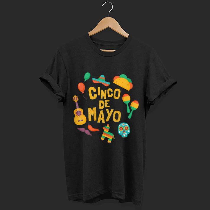 e696a7a6 Festive Cinco De Mayo Shirt Hoodie Sweater Longsleeve T Shirt