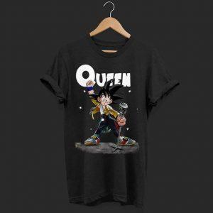 Freddie Mercury Queen Son Goku shirt