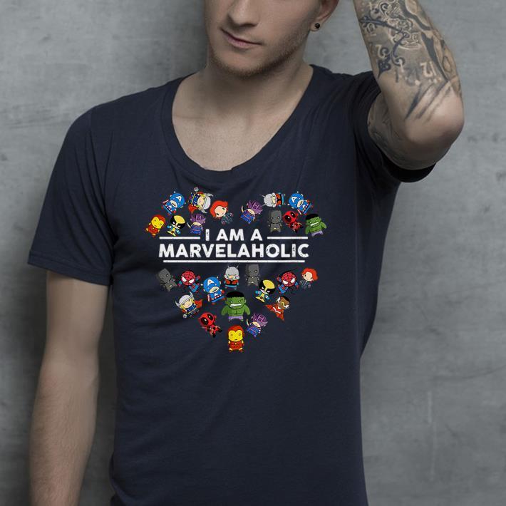 I Am A Marvelaholic shirt 4 - I Am A Marvelaholic shirt