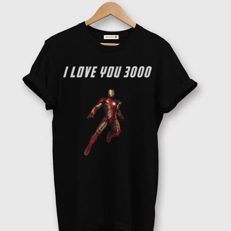 068c11062 ... I Love You 3000 Iron man End Game shirt