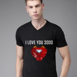 Iron man Arc Reator I Love You 3000 Father's Day shirt