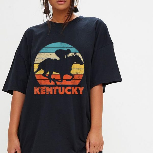 Kentucky Horse Racing Retro Style shirt