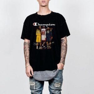 Kobe Bryant, Michael Jordan and LeBron James Champion shirt