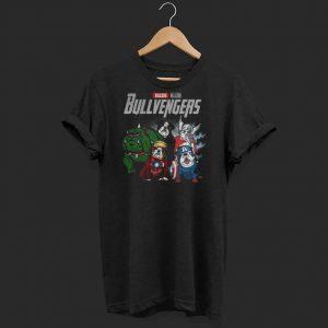 Marvel Avenger Endgame Bullvengers Bulldog shirt