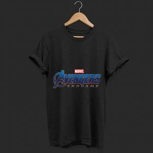 Marvel Avengers Endgame Movie Logo shirt