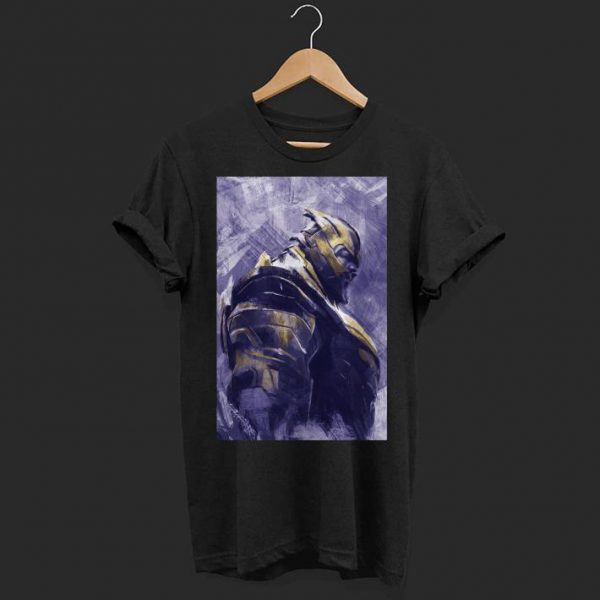 Marvel Avengers Endgame Thanos Painting shirt